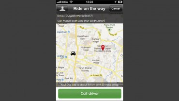 Olacabs iPhone App for Hiring Taxi Services in India Launched