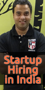 Startup Hiring in India