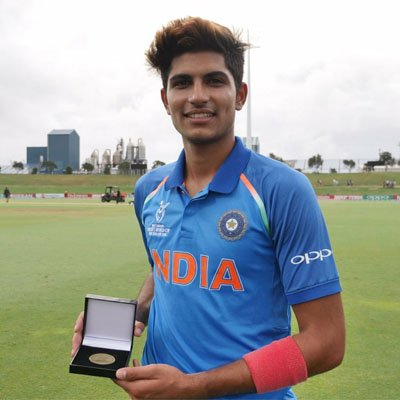 Young Achievers in India - Shubman Gill