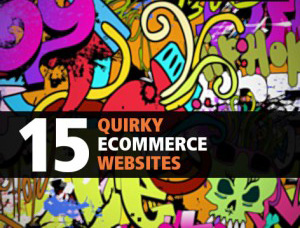 Quirky Ecommerce Websites