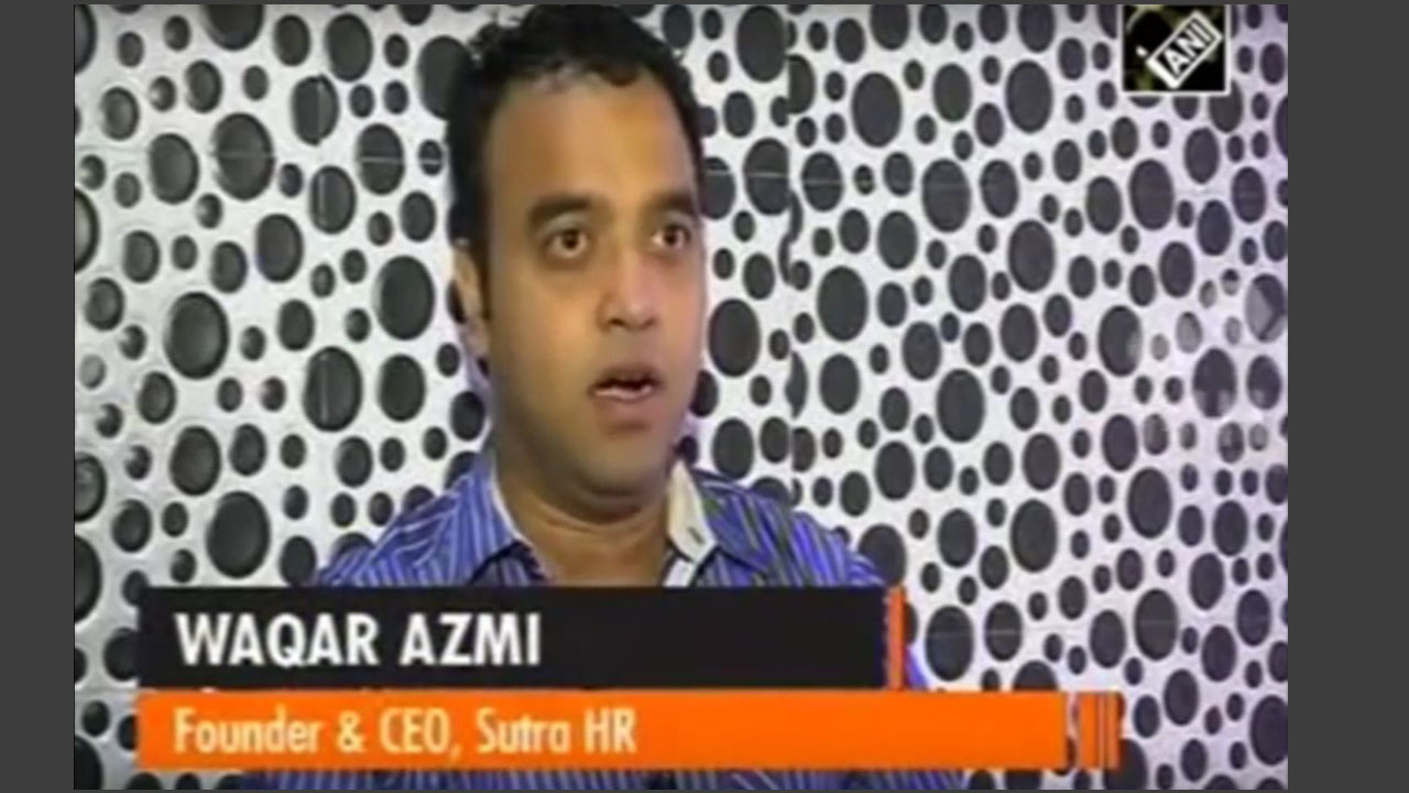 Waqar Azmi (Founder & CEO, Sutra Services) Features on Channel News Asia