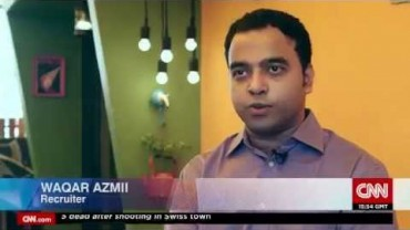 SutraHR's Founder and CEO, Waqar Azmi, features on CNN's Marketplace Middle East