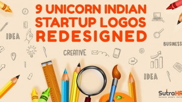 9 Top Indian Startup Logos Redesigned: SutraHR Style