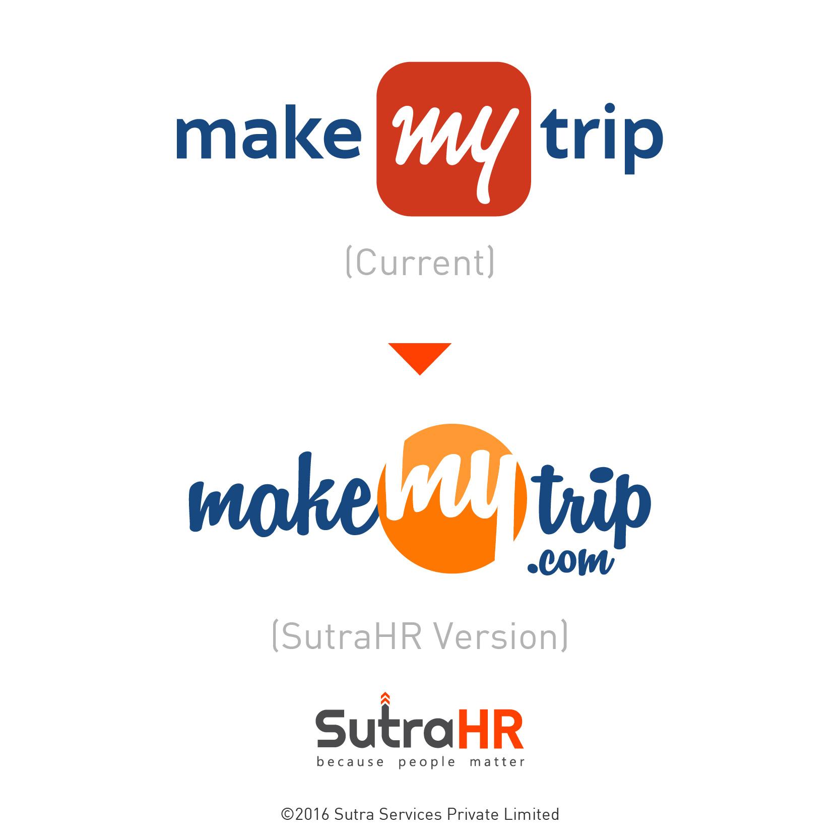 makemytrip startup logo redesigned