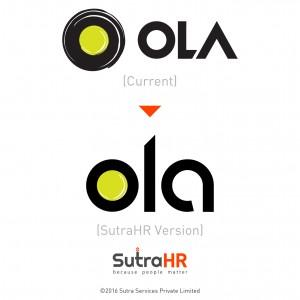 ola startup logo redesigned