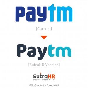 paytm startup logo redesigned