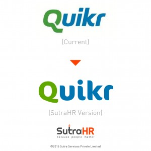 quikr startup logo redesigned