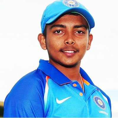 Young Achievers in India - Prithvi Shaw