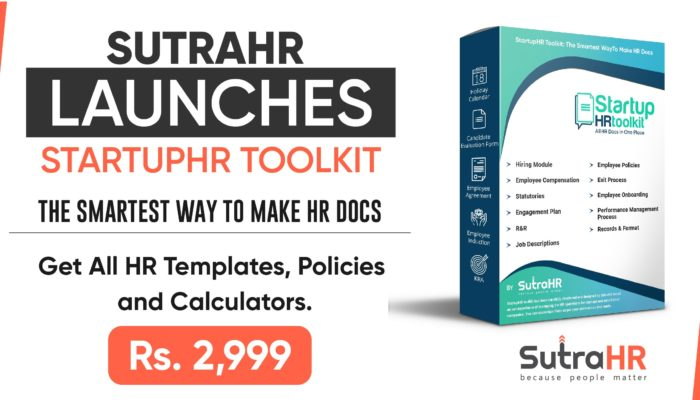 SutraHR Launches StartupHR Toolkit – Ready-to-use HR Templates For Different Stages of The HR Process